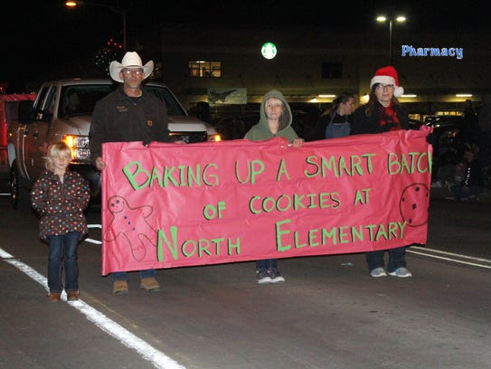 The Alamogordo Christmas Parade had 82 floats while