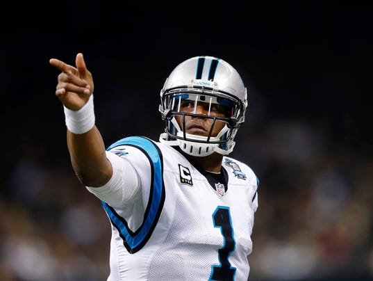FILE: Cam Newton Injured In Car Wreck Carolina Panthers v New Orleans Saints