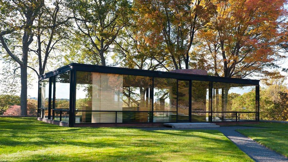 Glass House (Philip Johnson, Architect): The Glass