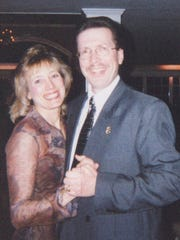 Barbara and Jim Leary. Barbara died in September 2013