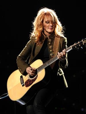 """Singer Nancy Wilson of Heart performs onstage during """"VH1 Divas Salute the Troops"""" presented by the USO at the MCAS Miramar on December 3, 2010 in Miramar, California. Heart headlines a show at the Grandstand at the Iowa State Fair this August."""