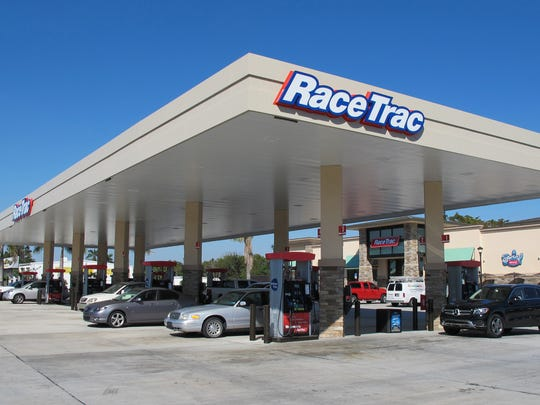 A RaceTrac gas station and convenience store, similar