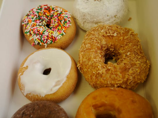 A selection of doughnuts from Donut King