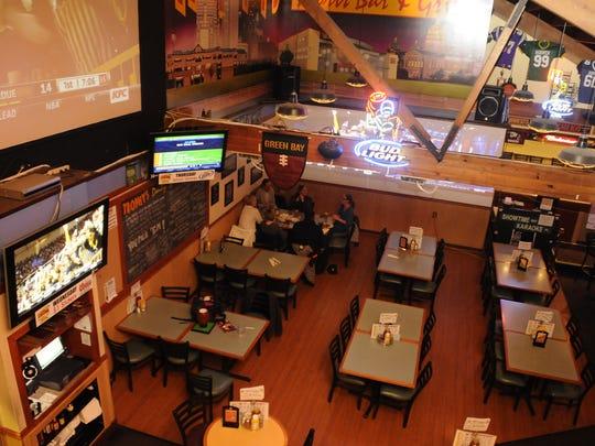 Trophy's Bar & Grille at Plaza Lanes.
