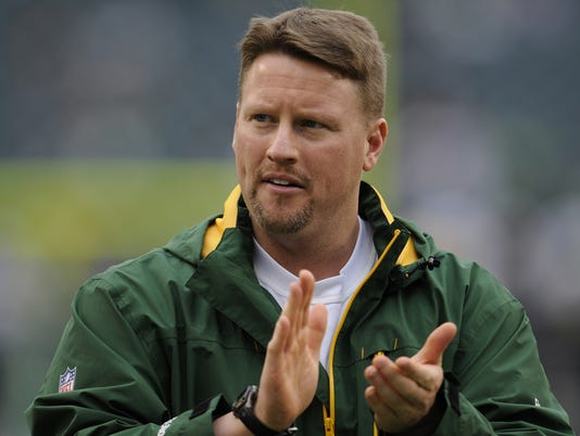 Packers tight ends coach Ben McAdoo