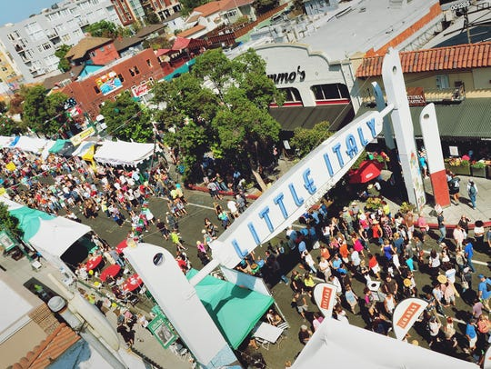 Head to Little Italy Mercato on Saturdays for some