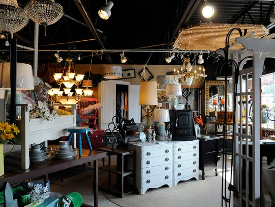 An array of home goods are offered at Gypsy Lea's in