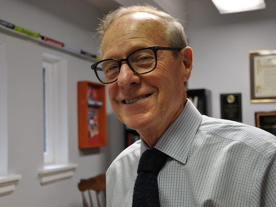 Hastings resident Dr. Norbert Sander has much to be happy about after his project to build a sports and entertainment center in Yonkers was awarded a $2 million state grant Thursday.
