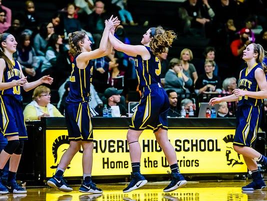 DeWitt vs Waverly Basketball