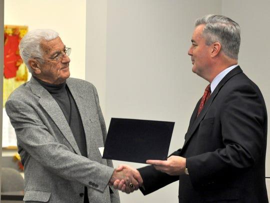 Senior Magisterial District Judge Paul M. Diehl is