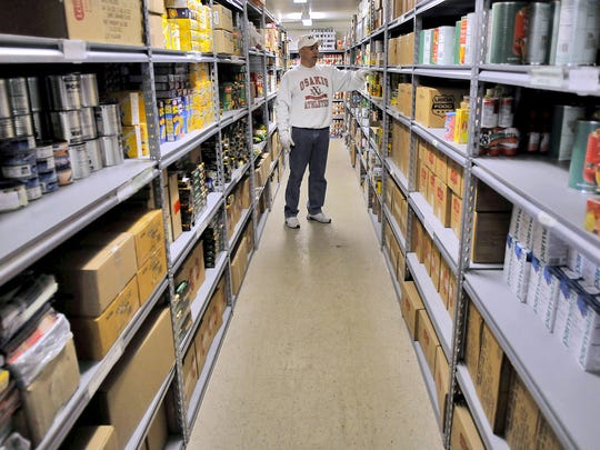Catholic Charities in St. Cloud last year provided about 30,000 people with 1.9 million pounds of food.
