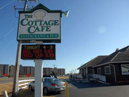 The Cottage Cafe in Bethany Beach offers plenty of