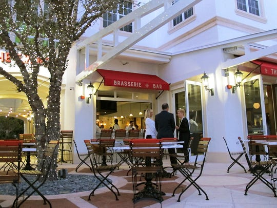 An indoor-outdoor bar and dining al fresco is available at The French Brasserie Rustique, which opened in January 2017 at 365 Fifth Ave. S. in Naples.