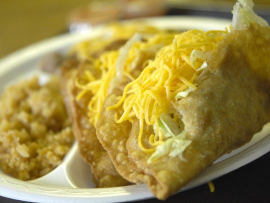 The tacos from Henry J's in Des Moines . Eric Rowley/Juice