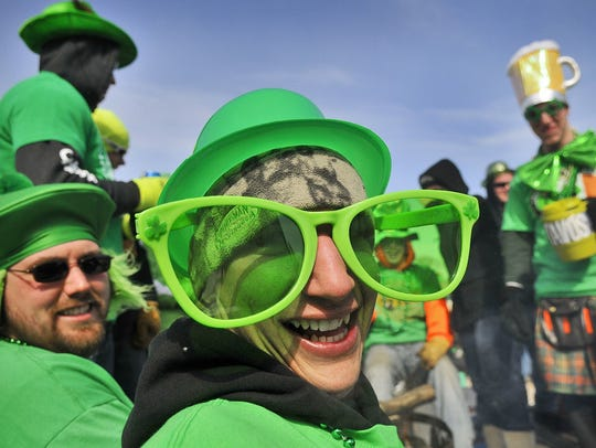 Dress up in green and celebrate St. Patrick's Day this
