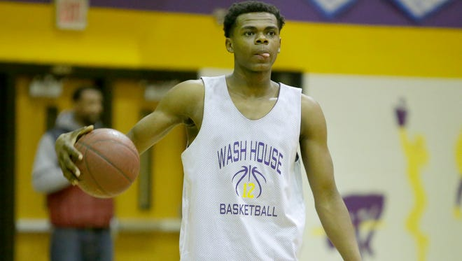 Milwaukee Washington freshman Michael Foster is a starter on the area's top-ranked team and has already committed to Arizona State.