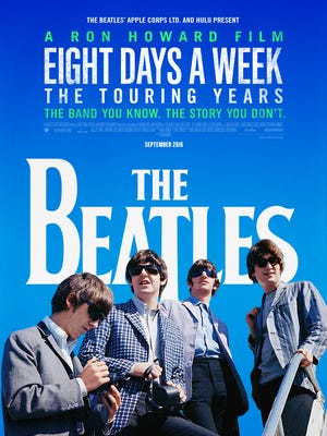 """The Hattiesburg Saenger Theater will host an exclusive theater showing of Director Ron Howard's """"The Beatles, Eight Day a Week: The Touring Years 1962-1966"""" at 7 p.m. Jan. 13."""