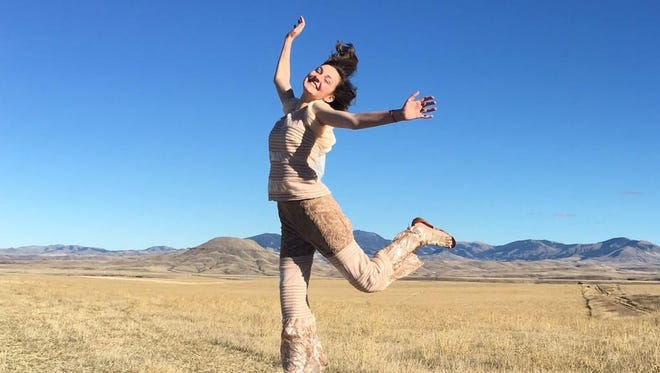 """Adrianna Irvine, 17, plays Ariel in the Belt Valley Shakespeare Players' production of """"The Tempest."""""""
