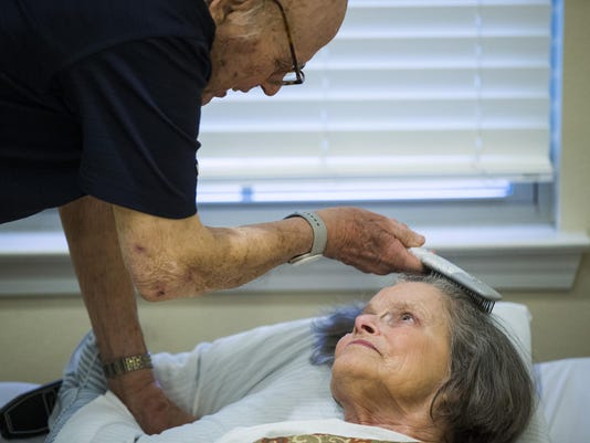 The Sometimes Stranger: Night after night, this Plano man visits his wife with Alzheimer's