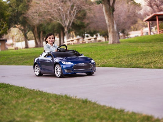 Tesla S for Kids From Radio Flyer