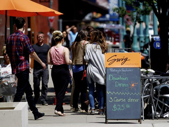 Downtown Dining Week should keep patios and sidewalk tables filled.