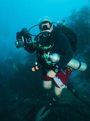 Salem's Mike Akers is diving on a sunken Japanese ship in the Chuuk, better known as Truk, Lagoon in Micronesia, which is on most serious divers' bucket list.