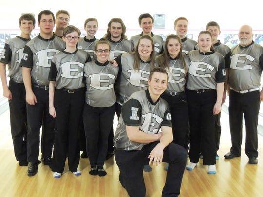 The South Lyon East boys and girls bowling teams both