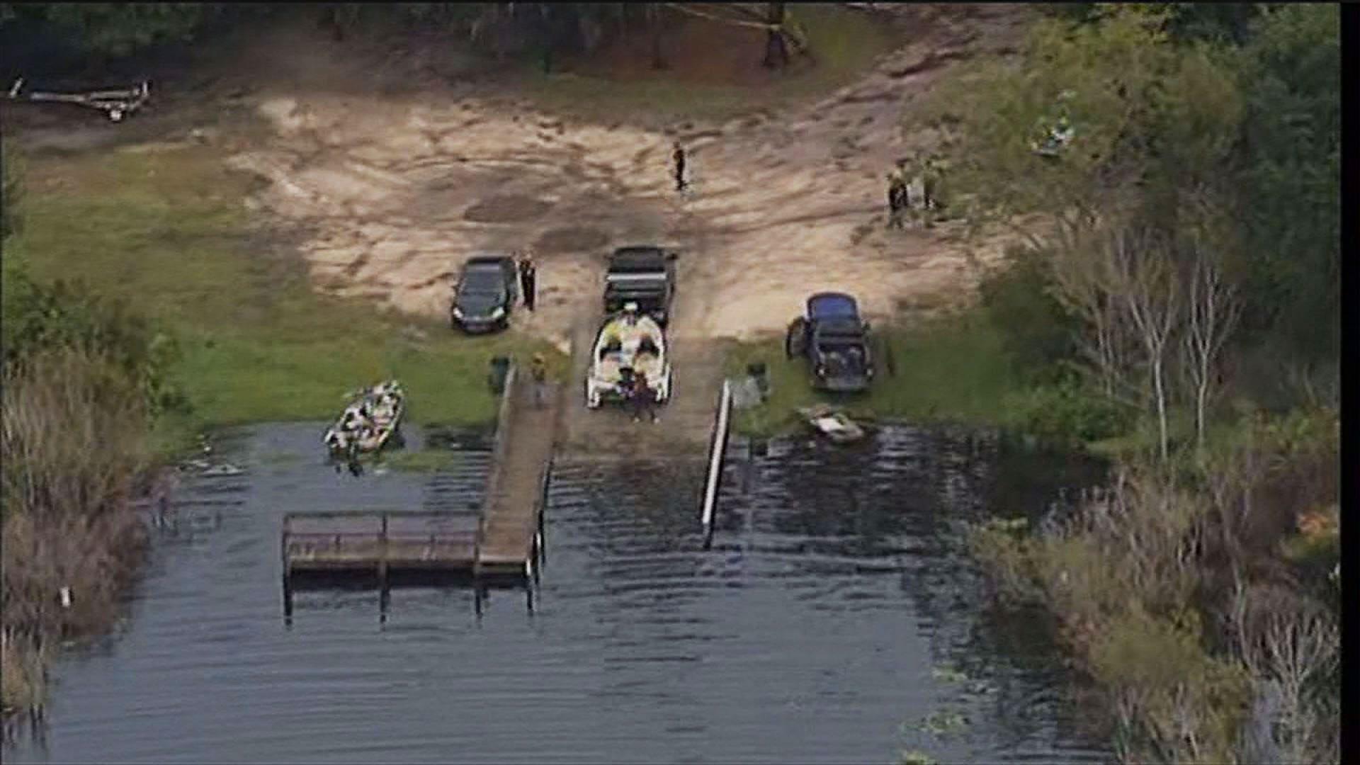 Lake fannie boat ramp