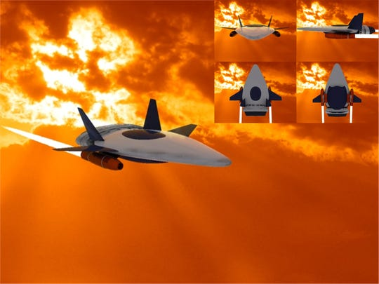 Shadow Dragon, 2010 Zhuhai Airshow, Hypersonic Space