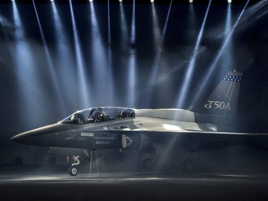 Lockheed announced Feb. 11 that it will build the T-50,