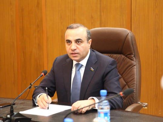 Azay Guliyev, MP of Azerbaijan