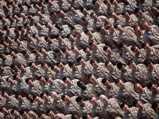 US Marines with the 22nd Marine Expeditionary Unit