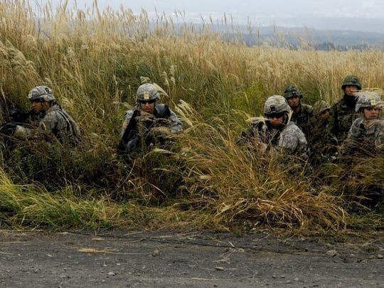 Soldiers with 3rd Battalion, 141st Infantry Regiment,