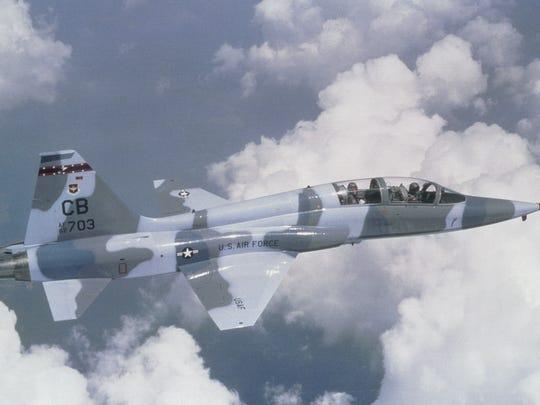 T-38 Talon flying
