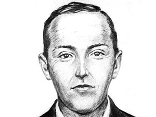 FBI Composite sketch of the D.B. Cooper suspect.