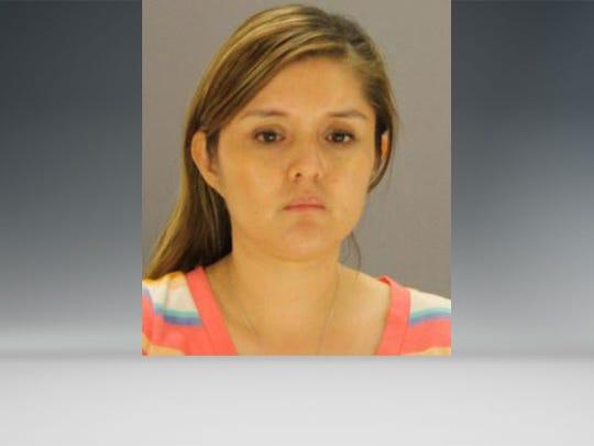 Brenda Delgado, seen here in a mugshot taken in Sept.