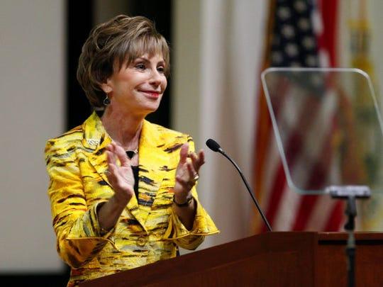 USF president Judy Genshaft said the school ranked