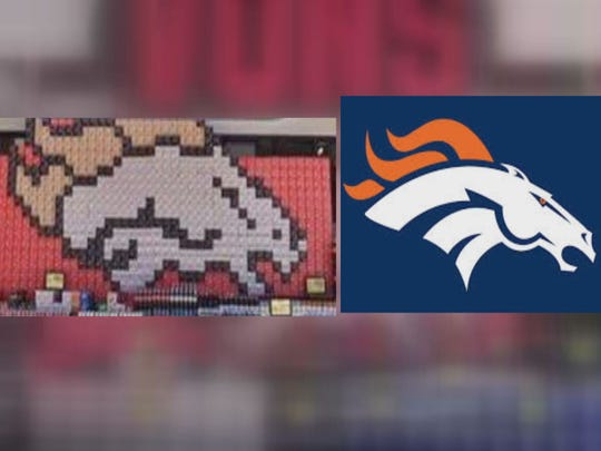 San Diego Store Inadvertently Makes Broncos Logo