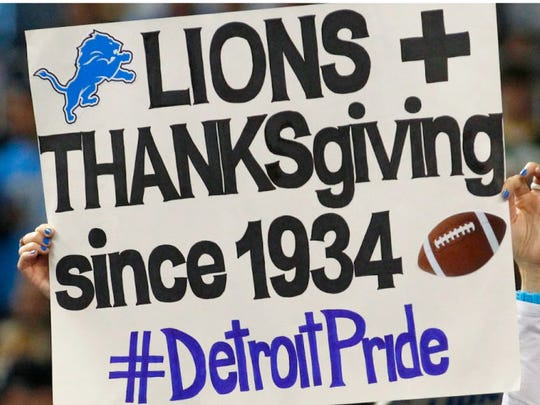 Detroit Lions have played on Thanksgiving Day since