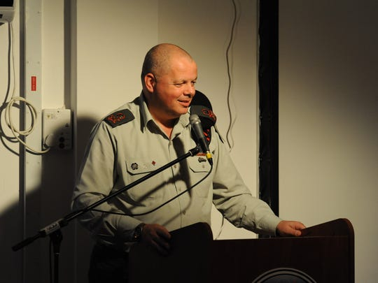 C4I Directorate commander Maj. Gen. Uzi Moskovitz