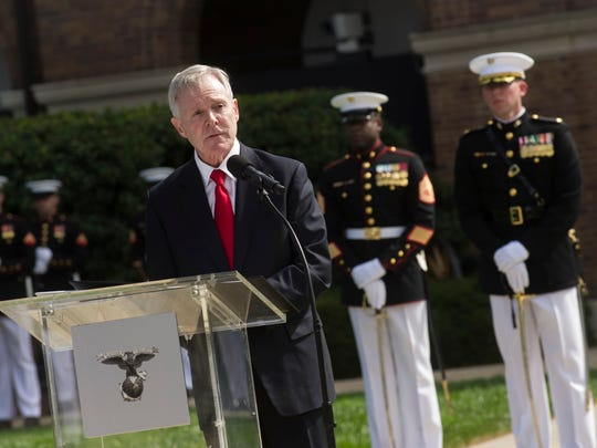 Ray Mabus is the longest-serving Navy secretary in
