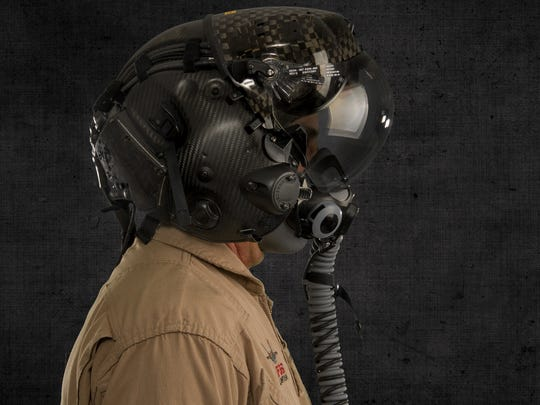 The F-35's Helmet Mounted Display Systems provide pilots