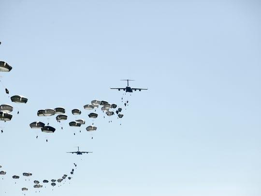 The 1st Brigade Combat Team, 82nd Airborne Division
