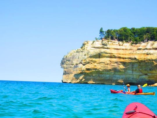 Waypoint member Ann Armstrong says kayaking the lakeshores