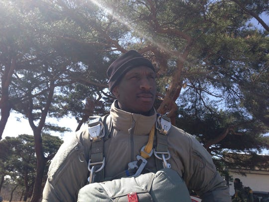 Former Army Special Forces Sgt. Bernard Bergan joined