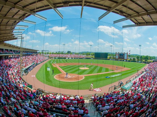 Baum Stadium is in line to receive several improvements once the University of Arkansas completes its expansion of Reynolds Razorback Stadium.