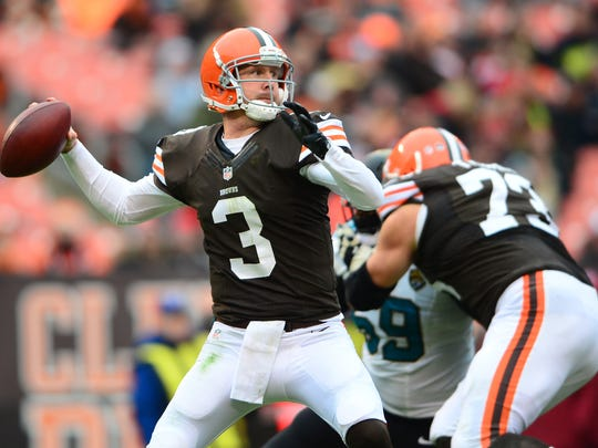 Brandon Weeden was a first-round pick of the Cleveland
