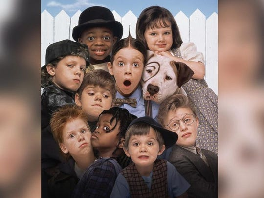 """The cast of the 1994 film """"The Little Rascals"""" are"""