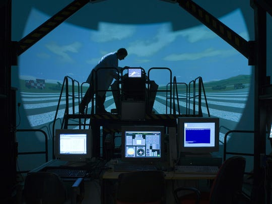 The T-100 Ground Based Training System is designed
