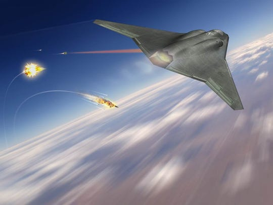 Northrop Grumman's rendering of a sixth-generation